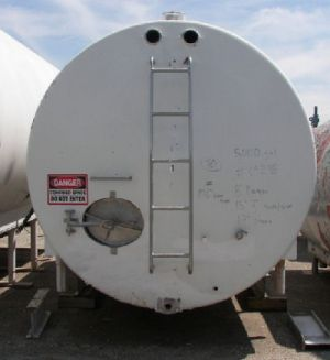 Mojonnier Insulated Horizontal Tank 7,000 Gallon