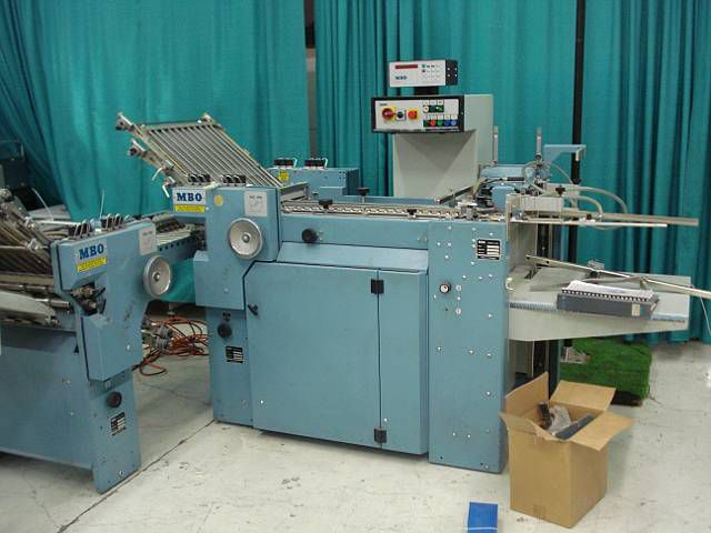 MBO B20. Folder Machine