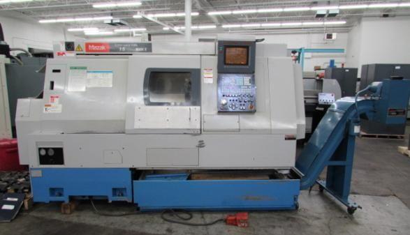 Mazak Control Mazatrol T Plus CNC Control Max. 4500 rpm SQT-15 3 Axis