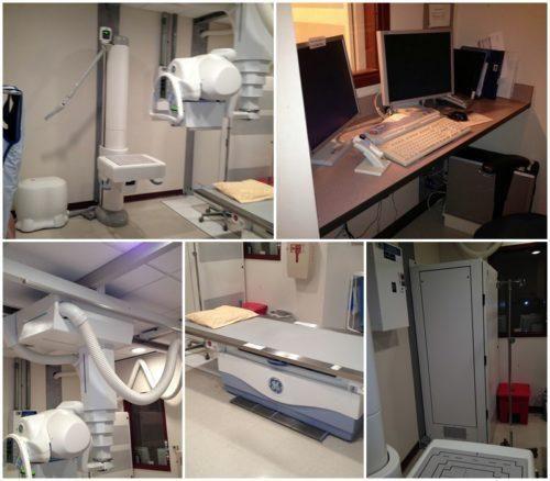 GE Revolution XRd-2X Lightening Dual Detector DR System