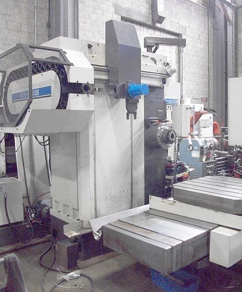 "Toshiba SHIBAURA CNC TABLE TYPE HORIZONTAL BORING MILL BTD-200QE 4"" 1600 rpm"