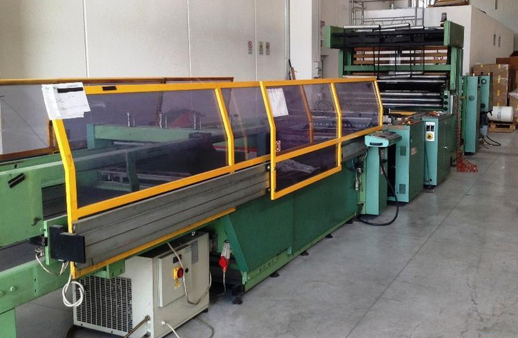 Elba SA91 130 Bag making machine