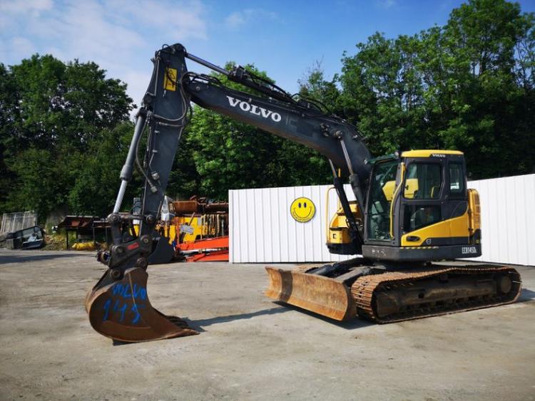Volvo ECR145DL Crawlers Excavator