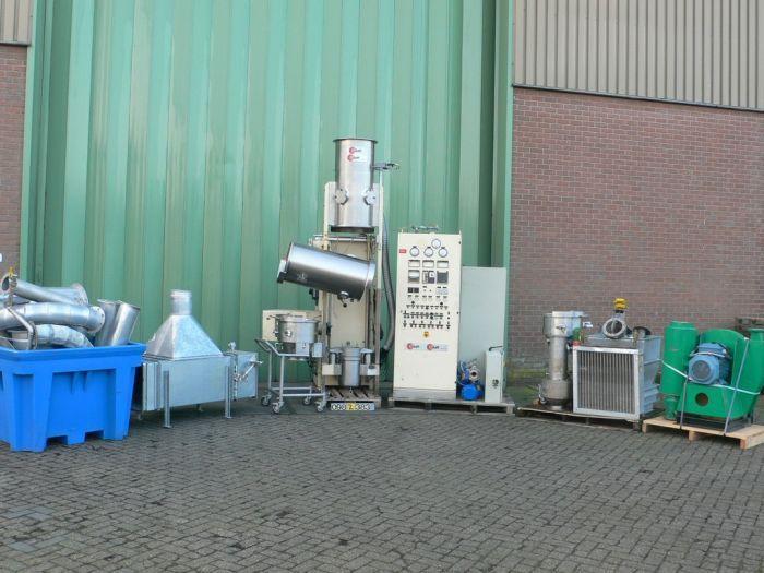 Glatt Fluidbed dryer batch GPCG-5