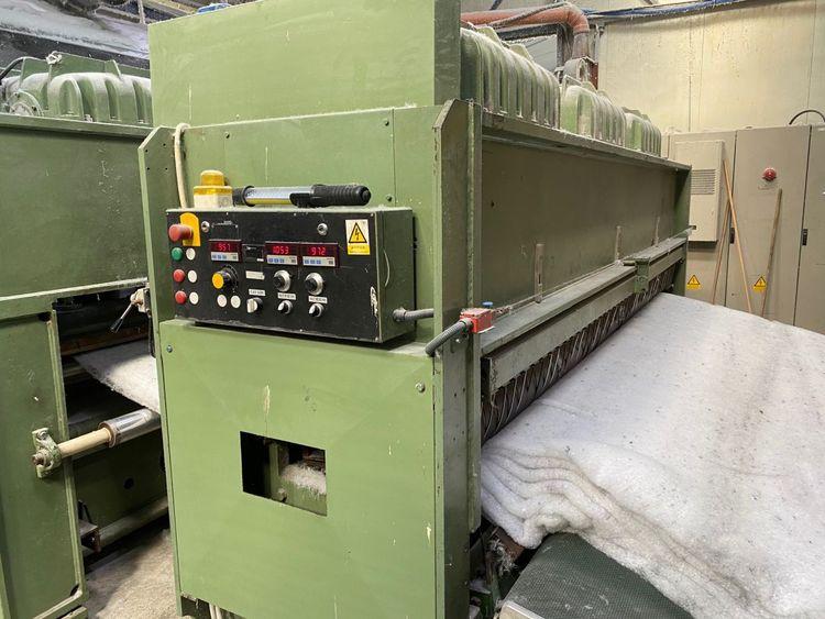 Fehrer NL 28 pre-needle loom, yoc: 1982 – refurbished in 2016, ww: 3.3 m, single board downstroke, stroke: 60 mm, 1 100 needles/m, 1 000 rpm