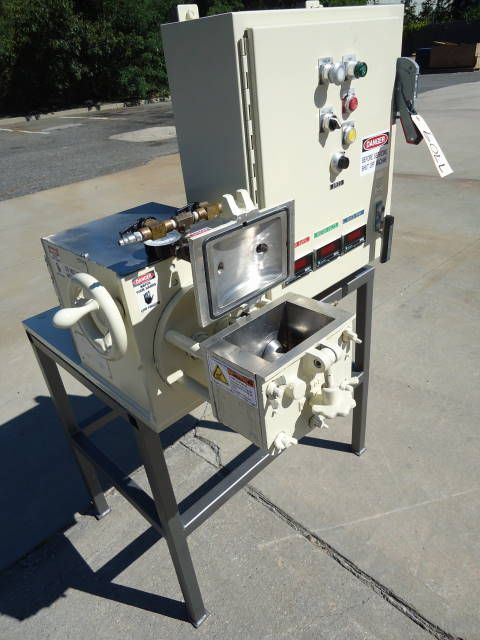 Readco STAINLESS STEEL JACKETED DOUBLE SIGMA ARM MIXER