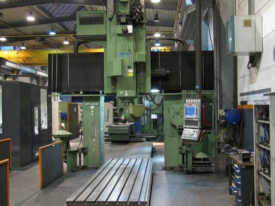 Zayer KP-5000 Bridge and Gantry Milling Machine