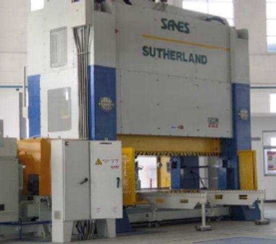 Sutherland EHW-660-144-60 Max. 660 Ton