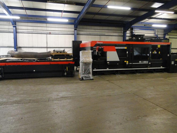 Amada FO M2 4222 4kw Laser with LST4222 Shuttle Table CNC Controller