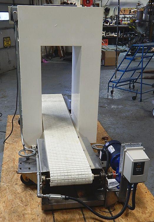 Cintex SP 4, Conveyorized Metal Detector