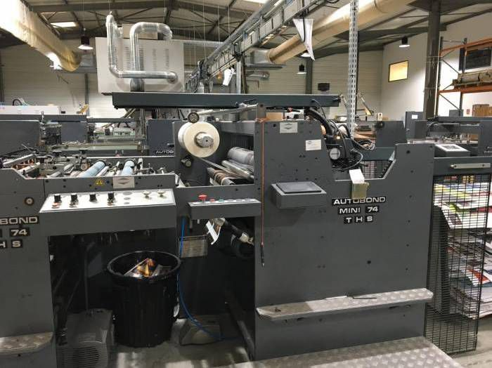 Autobond 74 THS Dry Laminating machine