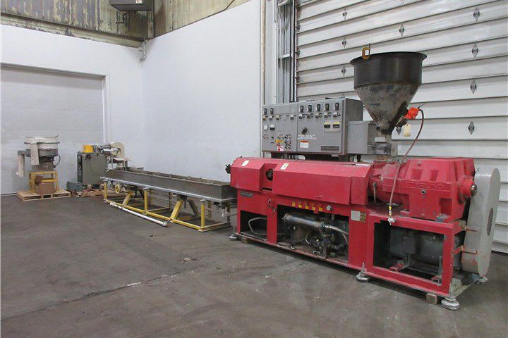 Sterling Single Screw Compounding Line