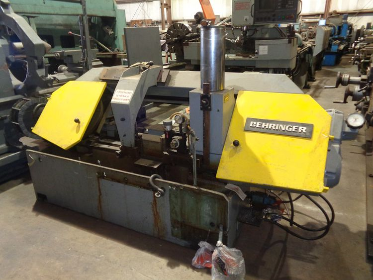 Behringer HBP 320 A Horizontal Band Saw Automatic
