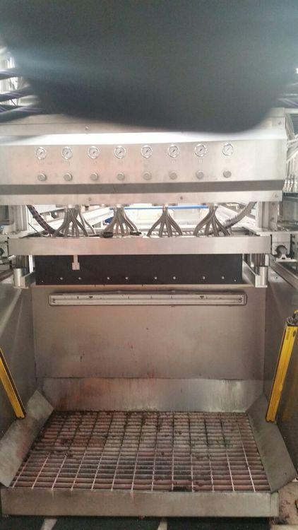 Complete carpet  printing line, CHROMOJET  HSV 400 resolution 1mm (25,4 dpi)