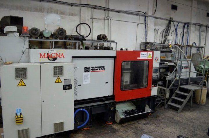 Ferromatic Injection molding machine 500 T