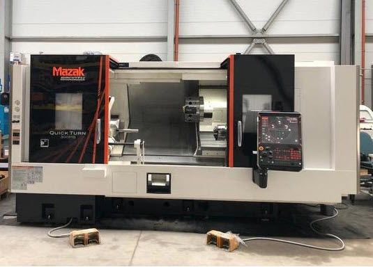 Troostwijk Auction of CNC metalworking machines and tools including Mazak (2018) and Deckel Maho