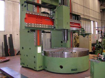 Mario Carnaghi TMC 27 CNC Vertical turret borer double column