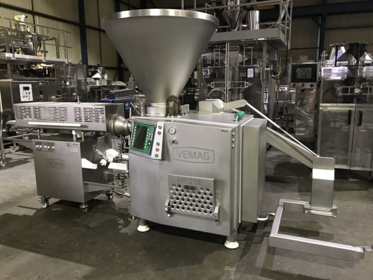Vemag HP25E Vacuum Filler with Loader