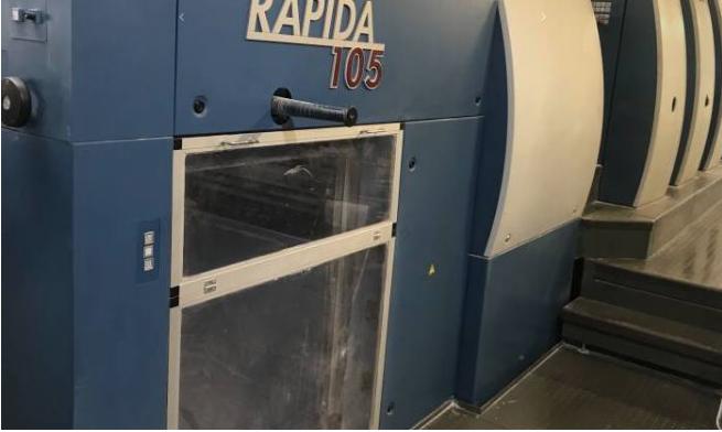KBA Rapida 105-10 SW - P40 106 x 74 cm 10