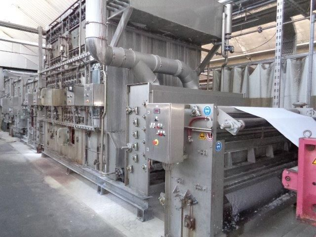Kusters 2200 mm Continuous  Bleaching Range