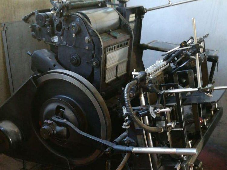 Heidelberg TIEGEL T  260 x 380 mm