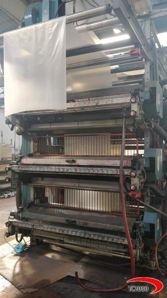 Filippini & Paganini Flexo Stack Printing Machine 6 1600 mm