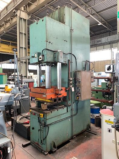 TCS swan neck hydraulic press 100 Ton