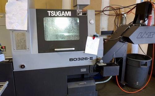 Tsugami Fanuc 32i-TB 8000 rpm B0326-II SWISSTURN 2 Axis