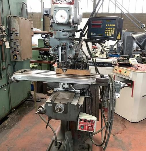 Bridgeport Fast Head Milling Machine VERTICAL 3750 rpm
