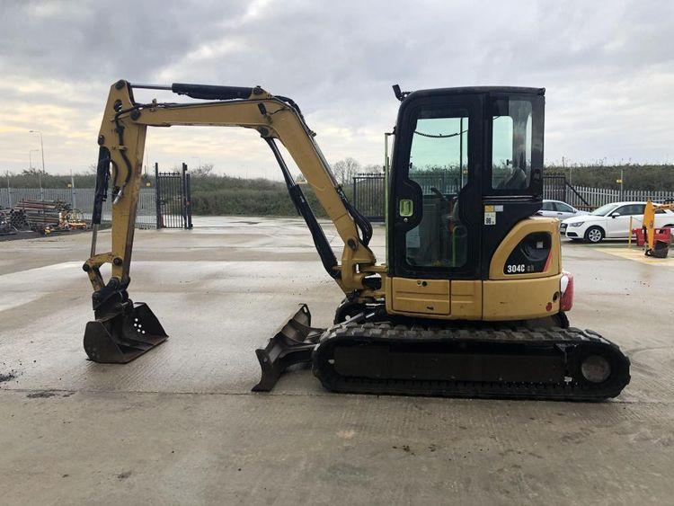 Caterpillar 304C CR Excavator