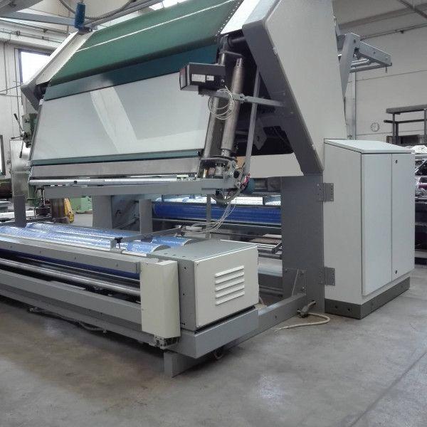 CTM Inspection machine with vacuum belt