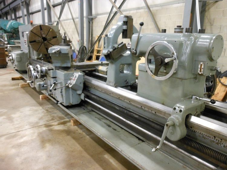 American Heavy Duty Engine Lathe 750 rpm PACEMAKER STYLE H6