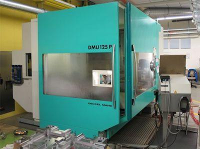 DMG DMU 125 P 4 Axis