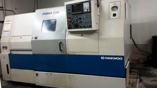 Doosan FANUC 21IT CNC CONTROL 3500 rpm PUMA 230C 2 Axis