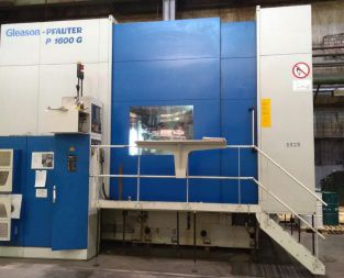 Pfauter P 1600 G Variable CNC Profile gear grinder Gleason