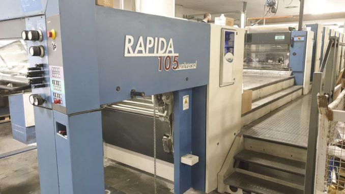KBA RA105-6+L PWVA ALV2 LED UV/IR 29 x 41 inch