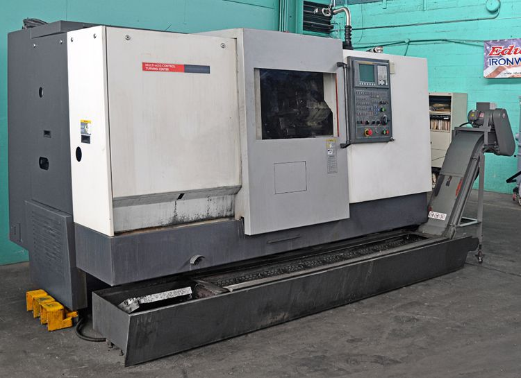 Hwacheon FANUC Oi-TC CNC Control 2 AXIS 5000 RPM CUTEX 240A 2 Axis
