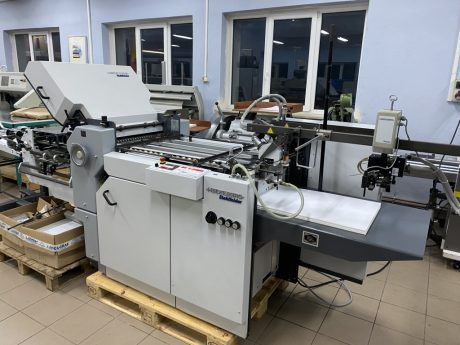 Heidelberg Stahlfolder TI 52-4 + KB-52