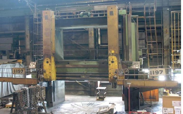 Morando KS-42-50 14 FT. VERTICAL BORING MILL