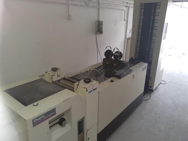 Duplo DC-10000S, DBM 200, Bookletmaker