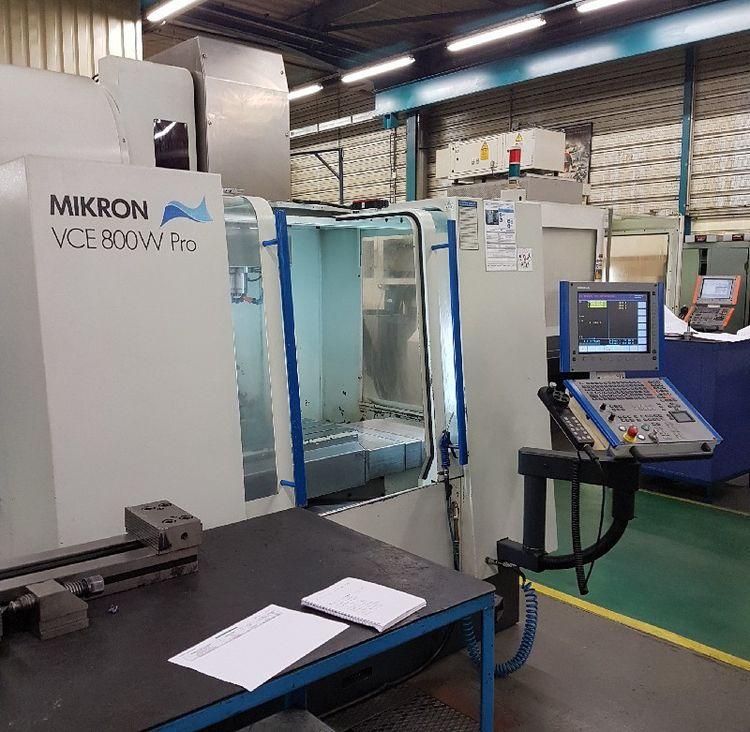 Mikron VCE 800 Pro 3 Axis