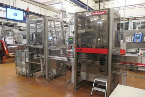 Sprinter Case Packing Line