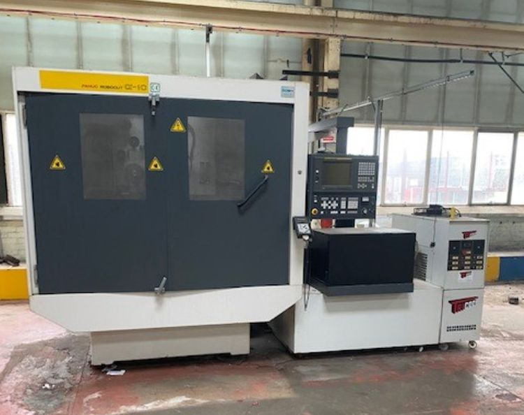 Fanuc Robocut Alpha C Series Wire Eroding Machine