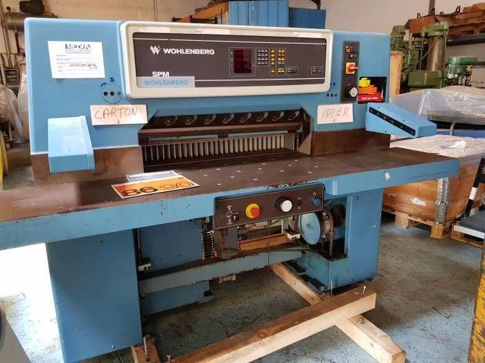 Wohlenberg 92, Paper guillotines machine