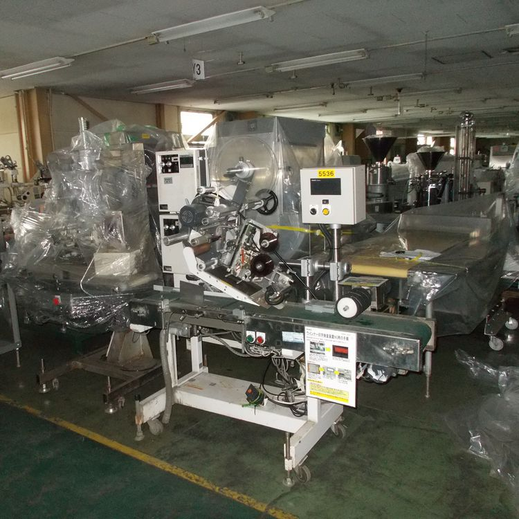 Fuji F4008 Labeler with print inspection device
