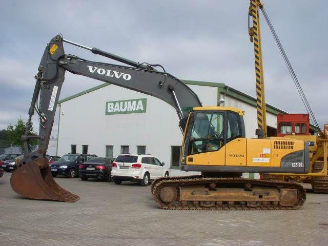 Volvo EC 210 C L Crawler excavators