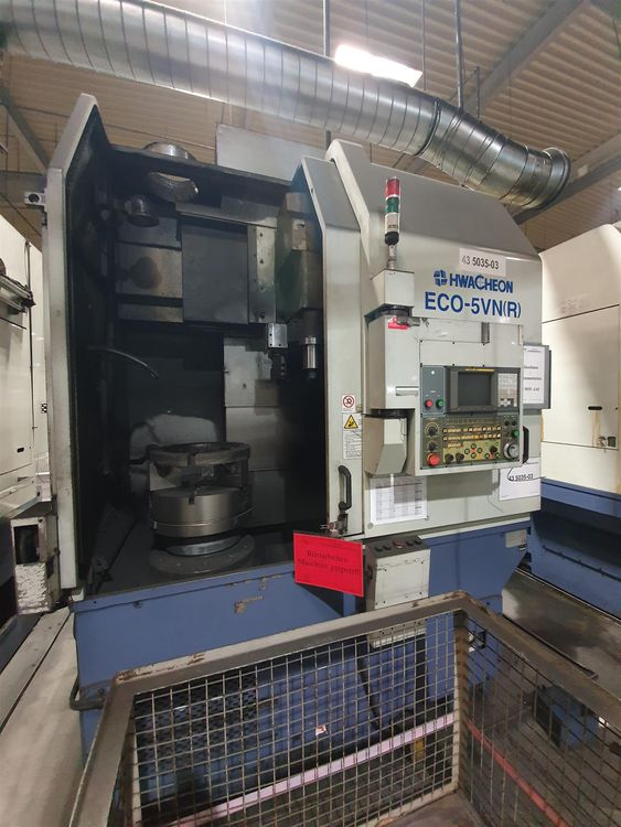 Hwacheon ECO 5-VN R Vertical turning lathe