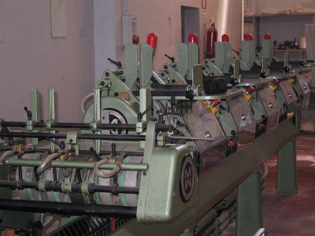 MULLER MARTINI METALLIC POINT STITCHING MACHINE