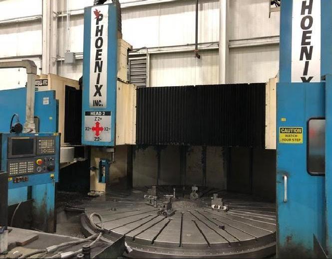 Phoenix 160″ CNC Vertical Boring Mill Ram Type