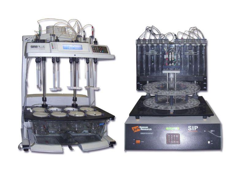 Hanson SR8-Plus Dissoette Autosampler with dissolution apparatus